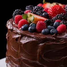 Fudgiest Dairy-Free Chocolate Cake Recipe by Tasty