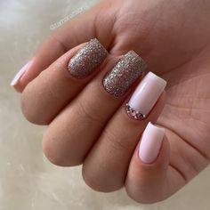 Manicure Pedicure, Nail Art, Nails, How To Make, Beauty, Gold Nails, Bling Nails, Long Nails, Toenails Painted