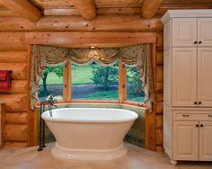 Log bathrom