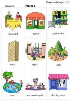 Vocabulario lugares