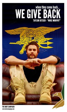 This week we have a LOT of Celebrity Supporters to share with you! We can't THANK the cast of Lone Survivor enough for showing their support of Marcus Luttrell and the men and women of our military by getting their Boot Campaign BOOTS On! Check out our friend Taylor Kitsch who plays Michael Murphy in #LoneSurvivor! Lone Survivor opens everywhere January 10th. Are you going to see it?