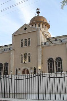 Church. Damascus. Damascus, Syria, Taj Mahal, Mansions, House Styles, Building, Home Decor, Damask, Decoration Home