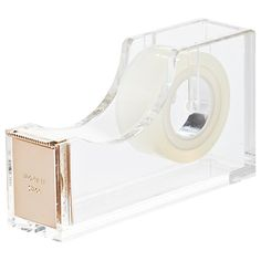 Buy kate spade new york Acrylic Tape Dispenser, Gold Online at johnlewis.com