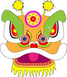 Masks clipart chinese dragon #9