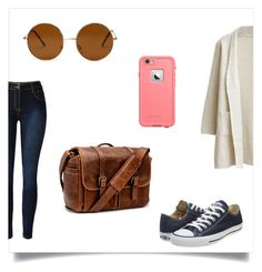 """""""Rookie"""" by artsy-synchro-star ❤ liked on Polyvore featuring Converse, Brixton, Forever 21, LifeProof, women's clothing, women, female, woman, misses and juniors"""