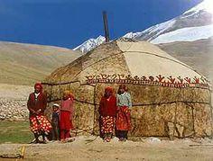 Traditional mongolian yurt.