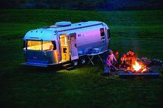 Стильные ретро дома на колёсах от компании Airstream2GO