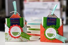 Teebeutelhalter Geschenkverpackung