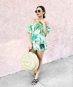 Palms two piece - shopmaccs.com Summer Of Love, Palms, Shoulder Dress, Dresses, Fashion, Vestidos, Moda, Palmas, Fashion Styles