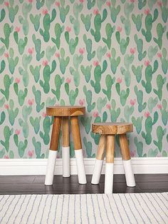 Dress Up Your Home with Cactus Wallpaper - COWGIRL Magazine