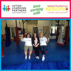The treatment and care for autism is a collaborative and interactive process. Our Buffalo staff loves partnering with We Rock the Spectrum - Buffalo Southtowns to help children and families!  #autism #autismlove #autismlife #AutismLearningPartners #MakingProgressPossible
