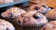 From the fabulous Foster's Market, this recipe for Blueberry Muffins is among my favorite muffin recipes ever. Photograph included.
