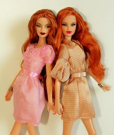 barbies , Rebel Reds !!! by napudollworld, via Flickr..37...37 qw2