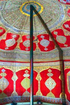 Bavarian Army Museum--Ottoman Turkic tent interior (Németország) | www.mohacsi-csata.hu