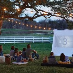 There's no better way to relax on a warm summer night than a movie under twinkly lights. Grab a couple of pillows, some popcorn, and a projector and try this fun idea from the summer issue of the Magnolia Journal. We'd love to see how it turns out so snag a pic and tag @Magnolia in your post! #MagnoliaJournal