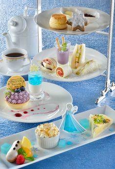 Elsa Frozen Fantasy Afternoon Tea Set ¥3,190 Please Note: Elsa Afternoon Tea Set will only be available January 6 - February 14, 2016
