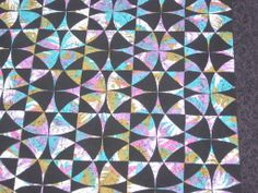 """Tropical Nightways"" (a Winding Ways quilt)"