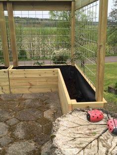 Veg Garden, Vegetable Garden Design, Garden Boxes, Backyard Vegetable Gardens, Backyard Patio, Backyard Landscaping, Patio Fence, Backyard Ideas, Patio Privacy