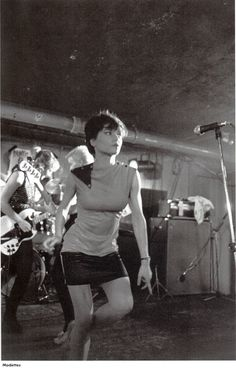 Ramona of the Modettes - saw them twice in the early 80's...