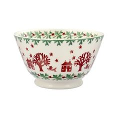 Christmas Town Joy Old Bowl 2017 Christmas Town, Christmas Treats, Christmas Holidays, Emma Bridgewater Pottery, Mulling Spices, Unique Home Accessories, Living Room Essentials, Kitchenware, Tableware