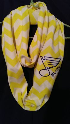 Hey, I found this really awesome Etsy listing at https://www.etsy.com/listing/182606134/st-louis-blues-chevron-scarf
