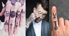 We have collected some great finger tattoos ideas for men. That can be a great inspiration for you to get your next finger tattoo.