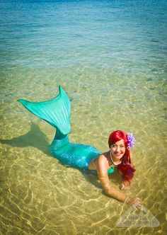 The Little Mermaid Ariel by Chamelle Photography