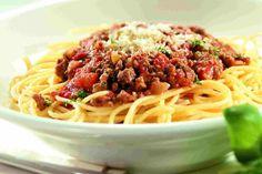 Espagueti en Salsa Bologñesa