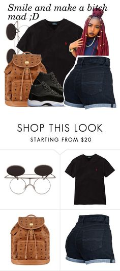 """"" by yani122 ❤ liked on Polyvore featuring Ralph Lauren and MCM"