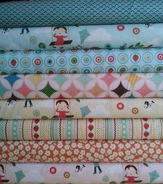 Fly a Kite Bundle from Skye Reve Fabrics