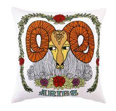 Aries Sign Pillow
