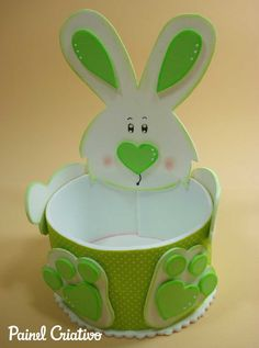 How to make Easter bunny souvenir candy holder EVA kids How to make Easter bunny souvenir candy holder EVA kids Hand advent wreath ⭐️ hand advent wreath (. Foam Crafts, Diy And Crafts, Paper Crafts, Homemade Anniversary Gifts, Presents For Kids, Easter Crafts For Kids, Spring Crafts, Easter Baskets, Easter Bunny