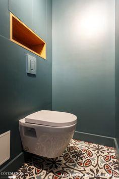Une rénovation totale pour une famille qui s'agrandit - Projet Épinettes, Mon Concept Habitation - Côté Maison Ikea, Bathroom, Inspiration, Lyon, Hacks, Architecture, Bath, Shower Tub, My Dream House