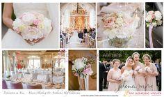 Konzept rosa weiss creme Mai Hochzeit - Aschbacher Hof Maria Altenburg Kirche…