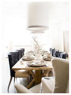 Rustic Dining | The Housewife Wannabe
