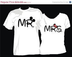 Hey, I found this really awesome Etsy listing at https://www.etsy.com/listing/176857620/mr-mrs-mickey-minnie-names-tshirts