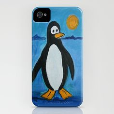 Cute Penguin by gretzky on iphone cases and skins on Society 6