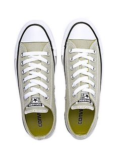 bb1ae056e6cad5 Converse Unisex Chuck Taylor All Star OX Trainers - Light Surplus
