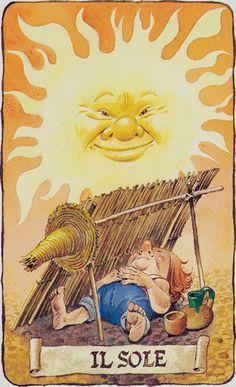 The Sun - Tarot of the Gnomes