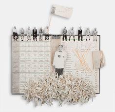 Book Collages - Artist Books | Lisa kokin Artist