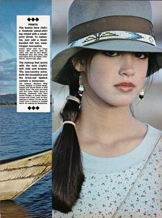 rare! phoebe cates early 80s modeling clippings/ads early 80s bikini from $12.95