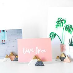 DIY mini portafotos | Decoración