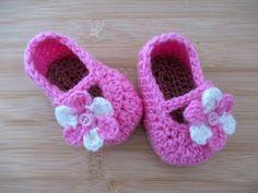 Crochet Baby Slipper Shoes Tutorial