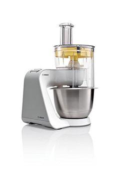 Bosch Styline - Robot de cocina con cuenco de mezclar de acero y accesorios, 900 W - http://vivahogar.net/oferta/bosch-styline-robot-de-cocina-con-cuenco-de-mezclar-de-acero-y-accesorios-900-w-2/ -