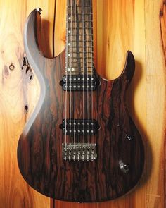 Brody Uttley's (Rivers of Nihil) Ziricote Kiesel K-Series 7-String (K7)