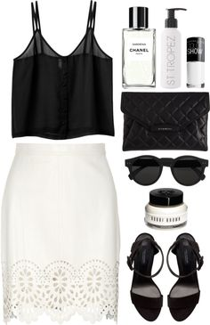 """welcome to St.Tropez"" by rosiee22 ❤ liked on Polyvore"