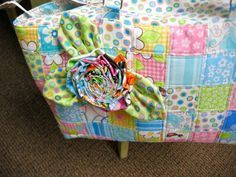 Birdie Bag - City Zipper by Penny Sturges at Quilts Illustrated
