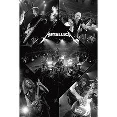 """Poster """"Live"""" dei #Metallica. Dimensioni: 91,5 x 61 cm."""