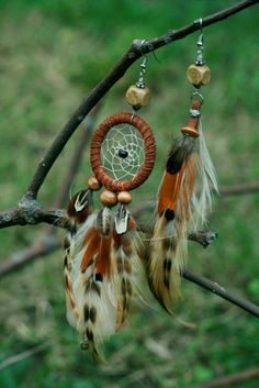 Naughty Natural Dreamcatcher Earrings