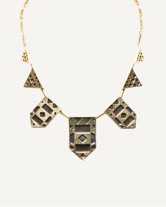 Le Château: Geometric Necklace